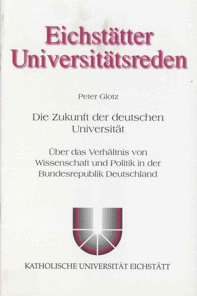AV Band 2 - Joachim Büschken - Die Zukunft der deutschen Universität