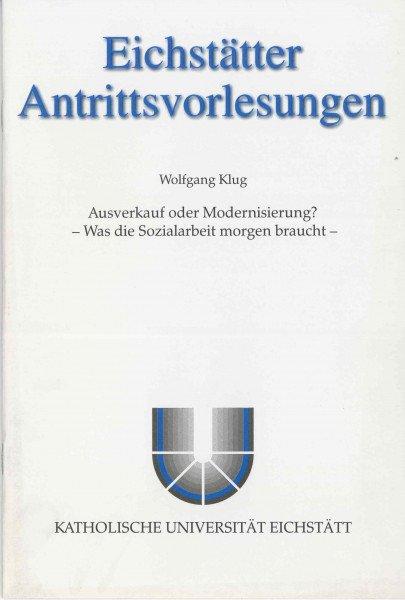 AV Band 4 - Wolfgang Klug - Ausverkauf oder Modernisierung
