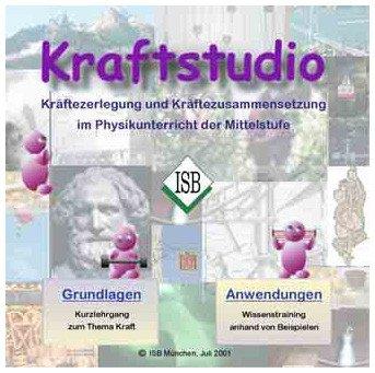 CD Kraftstudio, Physik: Kräftezerlegung und -zusammensetzung