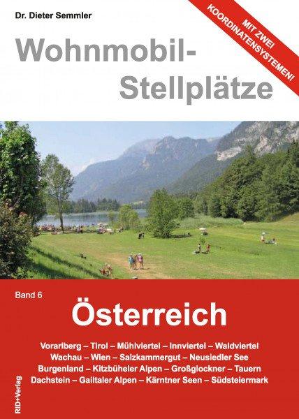 Wohnmobil-Stellplätze (Nr. 06) Österreich