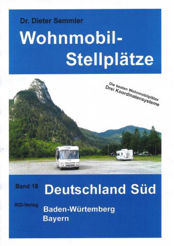 Wohnmobil-Stellplätze (Nr. 18) Deutschland Süd