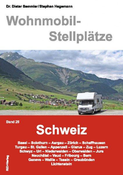 Wohnmobil-Stellplätze (Nr. 26) Schweiz